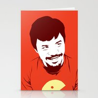 pacman Stationery Cards featuring Pacman by Yo Jimbo