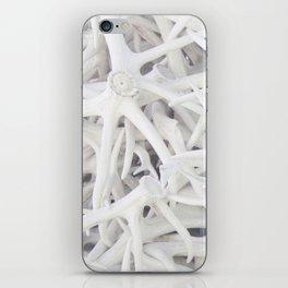 Wyoming White On White iPhone Skin