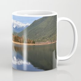 Picture Lake Coffee Mug