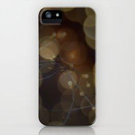 Indoor bokeh iPhone Case