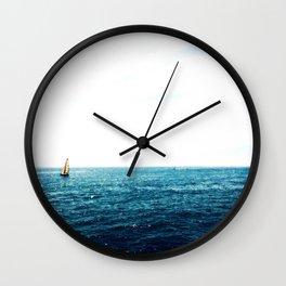 Sailing Wall Clock
