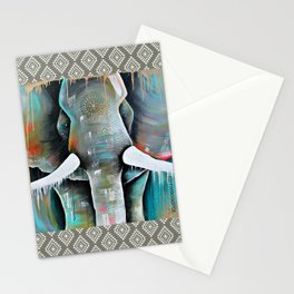Boris in colour Stationery Cards