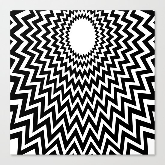 it makes me dizzy Canvas Print