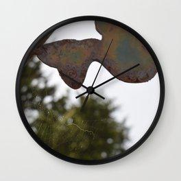 Hummingbird Web  Wall Clock