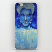 jack frost iPhone & iPod Skins featuring 'Jack Frost' by Katja K
