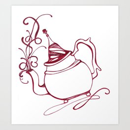 I'm A Little Teapot... Art Print