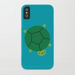 Happy Turtle iPhone Case