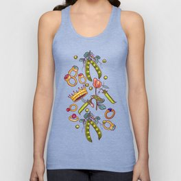 Princess and the Pea. Unisex Tank Top