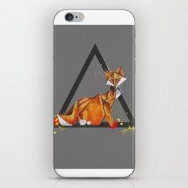 Paper Fox- Wild World Of Paper Series iPhone Skin