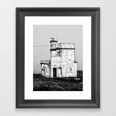 Old Sea Port Building, Dunmore East, Co. Waterford, Ireland Framed Art Print