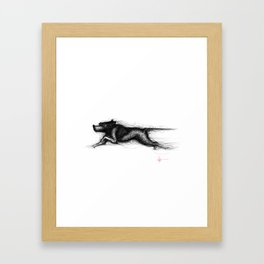 English Pointer Framed Art Print
