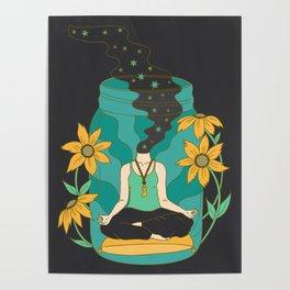 Meditation in a Jar Poster
