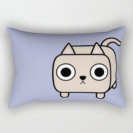 Cat Loaf - Cream Kitty Rectangular Pillow