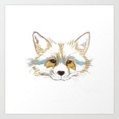 Foxee Art Print