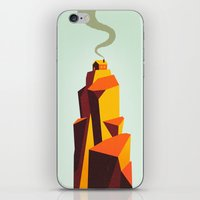 house iPhone & iPod Skins featuring House by Dorian Danielsen