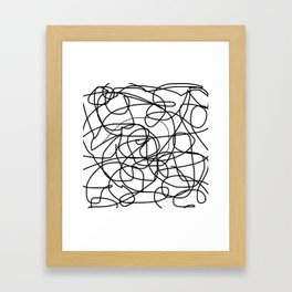 Agonize Framed Art Print