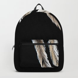 Ostrich Feathers Backpack