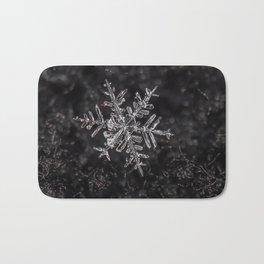 January Snowflake #3 Bath Mat