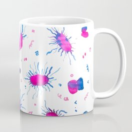 Virus Kiss with Hangul Alphabets Coffee Mug