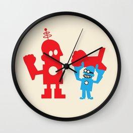 BUILD ROBOTIC SUIT Wall Clock