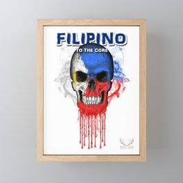 To The Core Collection: Philippines Framed Mini Art Print