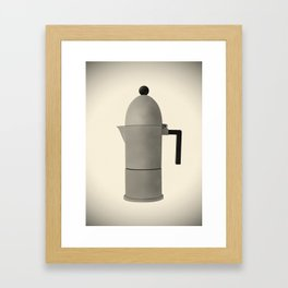 Cupole by Alessi. Vintage Italian coffee maker. Framed Art Print