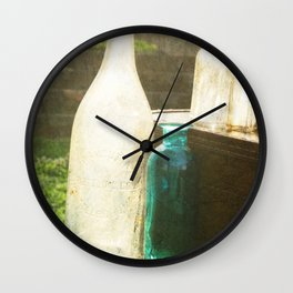 Bottled Up Wall Clock