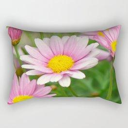 Daisy pink 090 Rectangular Pillow