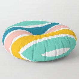 Rainbow Stripes Floor Pillow