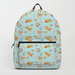 Majesty Pembroke - Happy Diving Corgis Backpack