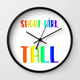 Bisexuality Pride Flag Lesbianism Lesbian Art LGBT Quotes Wall Clock