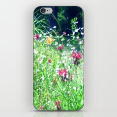 Meadow Of Wildflowers iPhone & iPod Skin
