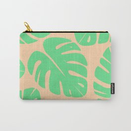 Monstera Leaf Print 3 Carry-All Pouch