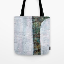 Forest White  Tote Bag