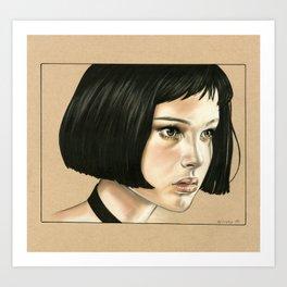 Mathilda Art Print