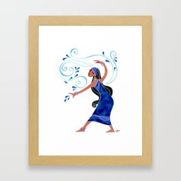 Monsoon Framed Art Print