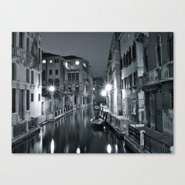 Venezia di notte Canvas Print