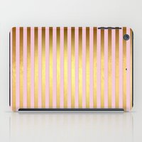 bisexual iPad Cases featuring Striped by Better HOME