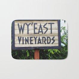 Wy'East - Sign Bath Mat