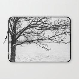 Winter's Oak Tree Laptop Sleeve