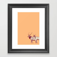 The Elk Framed Art Print