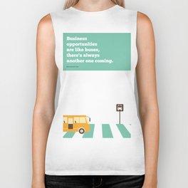Lab No. 4 - Business  Richard Branson Virgin Inspirational Corporate Startup Quotes Poster Biker Tank