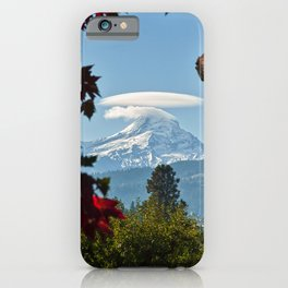 Mount Hood Close Up iPhone Case