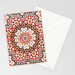 N64 - Traditional Geometric Moroccan Vintage Style Artwork Stationery Cards