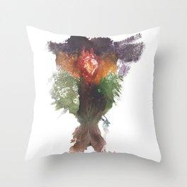 Devon's Vulva Print No.1 Throw Pillow