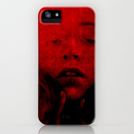 Red Madder iPhone Case