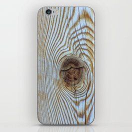 Wooden Knot Texture iPhone Skin