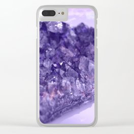 Celestial Amethyst, Deep Clear iPhone Case