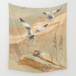 Gulf Coast Gulls Wall Tapestry