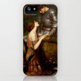 """John William Waterhouse """"Lamia"""" iPhone Case"""